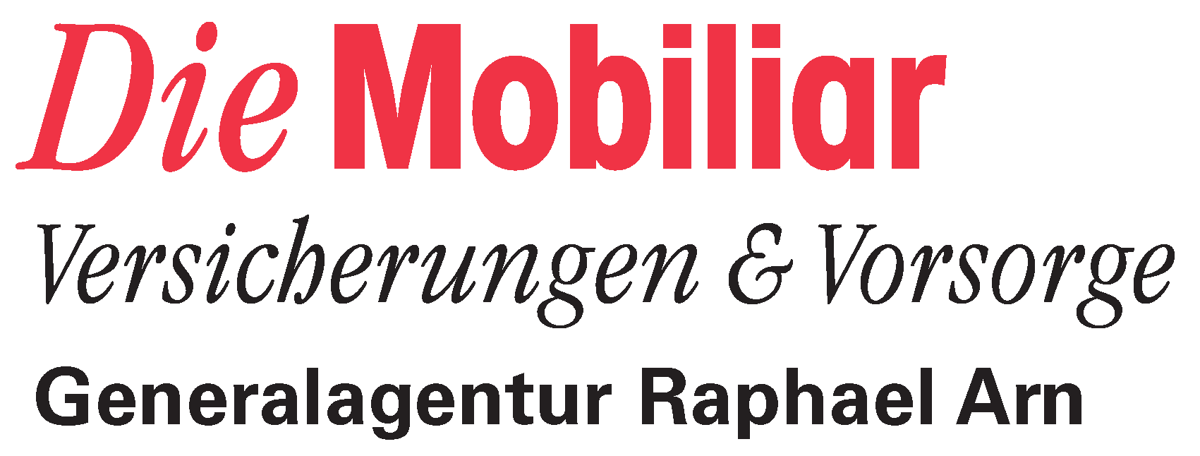 Logo Mobiliar GA Raphael Arn
